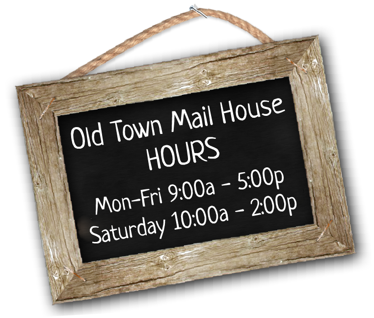 Mailbox Rentals | Old Town Mail House